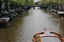 canal cruise ticket in Amsterdam