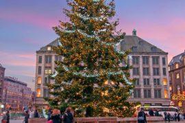 Weihnachtsfeiertage in Amsterdam